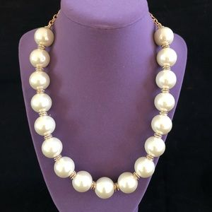 KATE SPADE STATEMENT PEARL NECKLACE